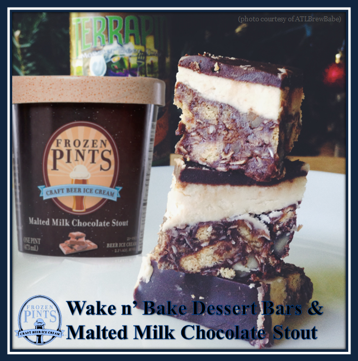 Wake n Bake Bars and Choc Stout