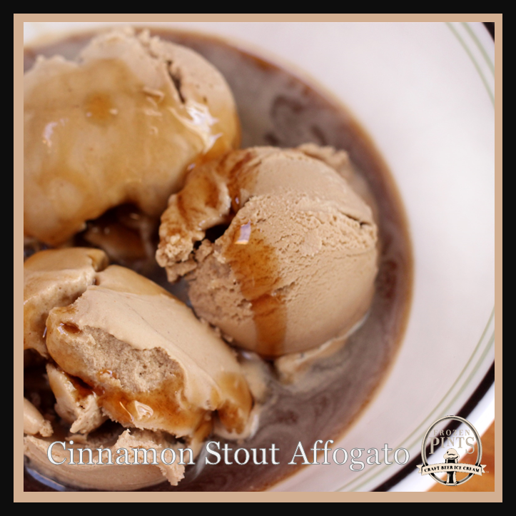 Cinnamon Stout Affogato